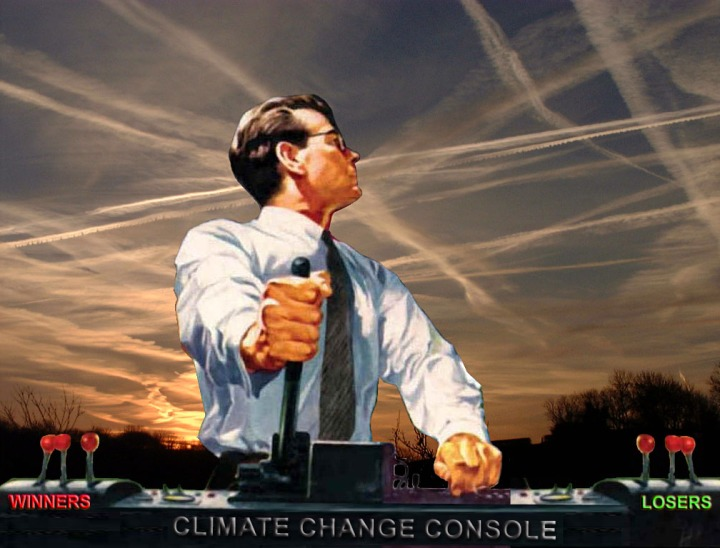 Chemtrails Are Used to Create Climate Chenge