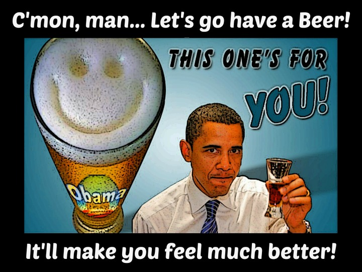 """Let's Drink to Obamacare!"""